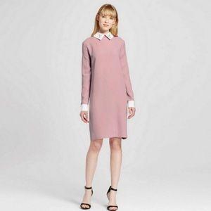 Victoria Beckham x Target Blush Bunny Collar Dress
